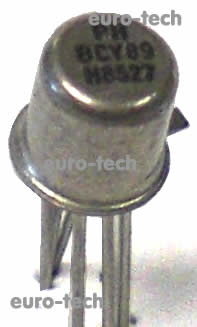 BCY89 from Philips Semiconductor actual stocked product image